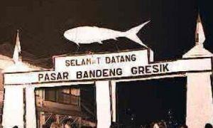 Pasar Bandeng Gresik - Lokasi pagelaran sambut Ramadhan/Foto Nusantaranews