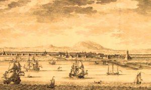Pelabuhan Sunda Kelapa yang kelak diberi nama Jayakarta kemudian Jakarta/Ilustrasi nusantaranews/ lukisan istimewa