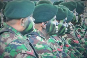 Prajurit Raider Batalyon Infanteri 303-Raider, Cikajang, Garut/Foto Nusantaranews/Istimewa