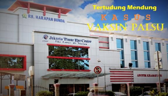 RS. Harapan Bunda Ciracas, Jakarta tertudung mendung kasus Vaksin Palsu/Ilustrasi Nusantaranews
