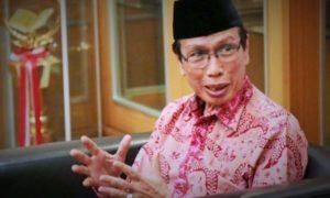 Rais Syuriyah PBNU KH Masdar Farid Mas'udi/Foto nusantaranews via pendidikanislam.id
