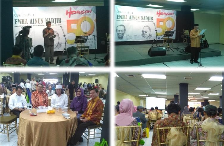 Suasa acara 50 Tahun Majalah Sastra Horison, 26 Juli 2016 di Galeri Cipta II TIM/Foto Selendang/Nusantaranews