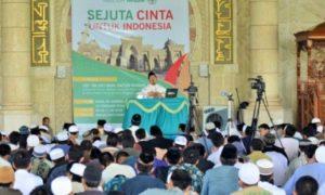 Tabligh Akbar Sejuta Cinta untuk Indonesia Pra Muktamar III Wahdah Islamiyah, Minggu, 17 Juli 2016/Foto Achmad/Istimewa