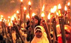 Tradisi Ela-ela di keraton Ternate/Foto Achmad/Nusantaranews