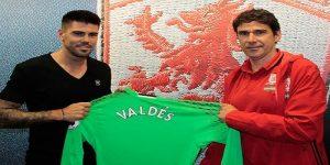 Victor Valdes resmi bergabung dengan Middlesbrough/Foto: Istimnewa