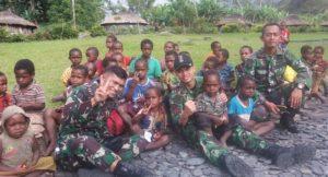 Satgas Pamrahwan (Satuan Tugas Pengamanan Daerah Rawan) Papua dari Batalyon Infanteri (Yonif) Raider 509 Kostrad/Foto via Aktual