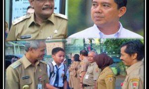 Yuddy Chrisnandi, Ganjar, dan Djarot Kompak Kampanyekan HPS /Foto Ilustra Nusantaranews