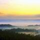 Memanjakan mata dengan sunrise Borobudur dari Bukit Punthuk Setumbu. Megahnya Gunung Merapi-Merbabu dan Candi Borobudur nampak dari Bukit Punthuk Situmbu/Foto: jalananjogja