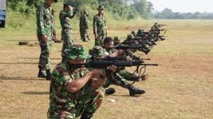 Ilustrasi latihan menembak