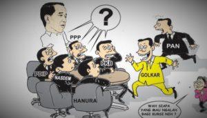 Ilustrasi: Reshuffle Kabinet Kerja Joko Widodo-Jusuf Kalla/Nusantaranews