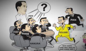 kursi menteri kabinet, koalisi indonesia kerja, meraba menteri, nusantaranews