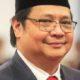 Ketua Umum definitif Partai Golkar, Airlangga Hartarto mendoakan Setya Novanto. Foto: Dok. Antara
