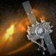 An artist's illustration of how Stereo-B looks in space/Foto nusantaranews via NASA