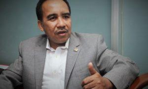 Anggota Komisi X DPR RI Jefirstson Riwu Kore/Foto nusantaranews (Istimewa)