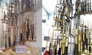 Automated Angklung karya Politeknik Mekatronika Sanata Dharma, Yogyakarta/Foto nusantaranews (Istimewa)