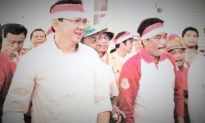 Basuki Tjahaja Purnama - Djarot Saiful Hidayat/Foto nusantaranews via suara