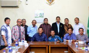 Kunjungan Sjafrie Sjamsoeddin ke kantor PW Muhammadiyah DKI Jakarta/Foto nusantaranews/Ghifari