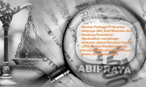 Dugaan Korupsi di PT Brantas Abipraya/Ilustrasi nusantaranews via detik