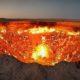 Gerbang Neraka Di Turkmenistan/Foto nusantaranews via Youtube