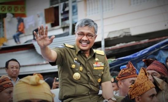 Gubernur Sulawesi Tenggara (Sultra) Nur Alam (NA)/Foto nusantaranews via indeksberita