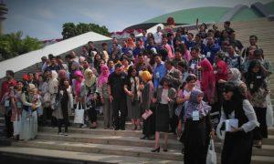 Foto bersama Bloger dan Netizen seblum sambangi anggota DPR/Foto nusantaranews/Leman