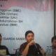 """Ketua Umum IMM, Taufan Putra Revolusi saat mengisi diskusi publik """"Nasionalisme dan Masalah Dwikewarganegaraan di Indonesia""""/Foto nusantaranews/Leman"""