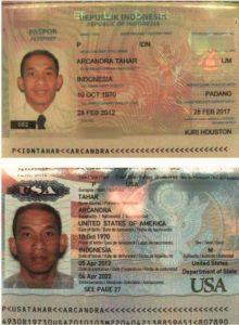 Paspor Arcandra Tahar/Istimewa