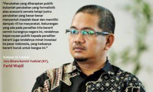 Juru Bicara Komisi Yudisial (KY), Farid Wajdi/Ilustrasi foto nusantaranews