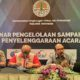 Direktur Pengelolaan Sampah KLHK, R Sudirman (paling kanan) dalam acara seminar pengelolaan sampah pada penyelenggaraan acara, Jakarta, Kamis (09/06)/Foto via greeners