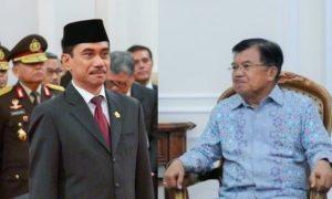 Kepala BNPT Suhardi Alius dan Wapres JK/Foto Ilustrasi Nusantaranews