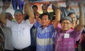Komunitas Jakarta Utara Bersatu (Kota Ratu) mengusung Kaspudin Nor Maju ke DKI 1/Foto nusantaranews via poskotanews