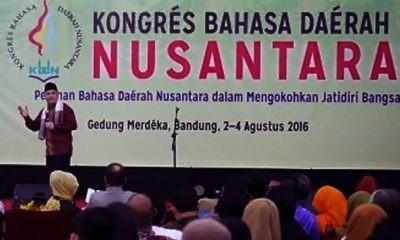 Catatan Kongres Bahasa Daerah Nusantara Pertama: 15 bahasa daerah telah punah dan 139 terancam