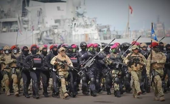 Latihan Bareng di Tarakan, Pasukan Elite TNI Siap Bebaskan Sandera WNI/Foto nusantaranews (Istimewa)