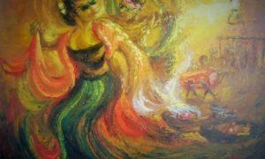 Lukisan Sintren/Foto via imamulmuttaqin