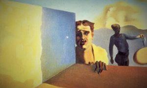 Lukisan di atas kanvas, Tukang cukur Sedih dari baik kali kekejaman/Ilustrasi nusantaranews/lukisan asli via id.aliexpress.com