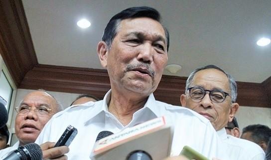 Menko Kemaritiman Luhut Binsar Pandjaitan/Foto nusantaranews
