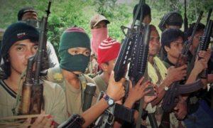 Pasukan Abu Sayyaf/Foto nusantaranews via afp