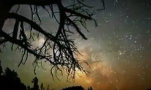 Penampakan Galaksi Bima Sakti/Foto nusantaranews via YouTube