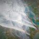 Peta Kebakaran Hutan Indonesia/Foto via mongabay