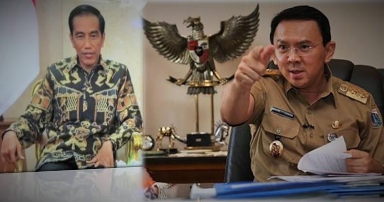 Presiden Jokowi dan Gubernur DKI Ahok/Foto ilustrasi nusnataranews