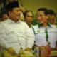 Sandiaga Uno duduk bersampingan dengan Prabowo Subianto/Foto nusantaranews via liputan6