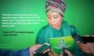 Sekjen DPP Perempuan Bangsa, Luluk Hamidah/Ilustrasi foto nusantaranews