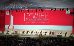Suasana di panggung acara WIEF ke-12 2016 /Foto nusantaranws via detik