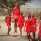 Suku Masai Tanzani main Jump/Foto nusantaranews via ghiboo