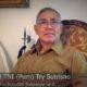 Wakil Presiden Republik Indonesia (RI) ke-6, Jenderal TNI (Purn) Try Sutrisno/Foto nusantaranews via youtube