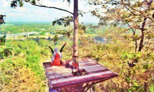 Watu Lumbung Yogyakarta/Foto nusantaranews via IG Dini/Istimewa