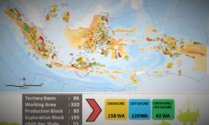 Wilayah Kerja Migas di Indonesia/Foto ilustrasi nusantaranews via qwords
