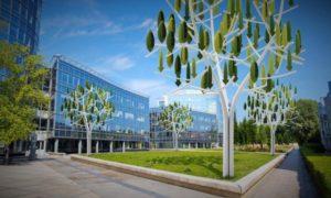 Turbin Angin Baru Menyerupai Pohon Hadir di Perancis/Foto nusantaranews via iflscience