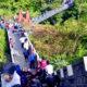 Tembok besar di Indonesia, the Greatwall of Koto Gadang.