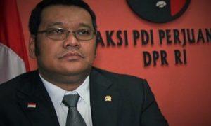 politikus PDIP Eriko Sotarduga/Foto nusantaranews via metrotvnews.com